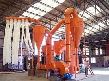 Sealing situation of ultra fine grinding machine