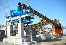Cobble Sand Making Plant In Kenya