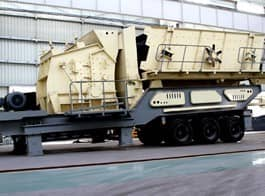 Tyre Mobile Impact Crusher
