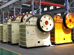 Middle jaw crusher
