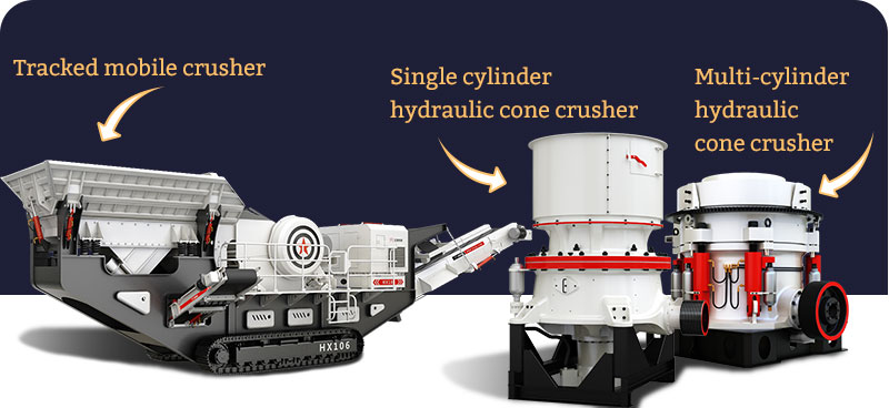 New types of crushers