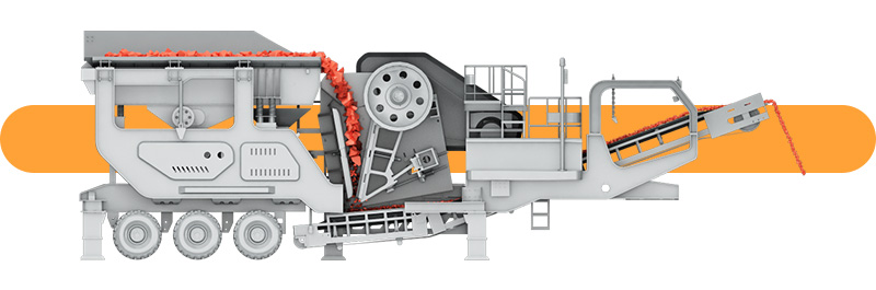 Crawler mobile jaw crusher working principle