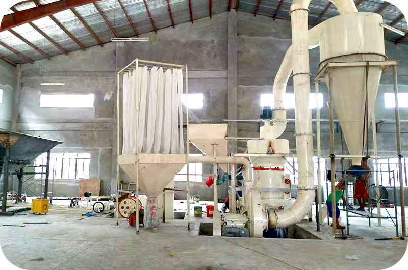 Ultrafine grinding mill production site