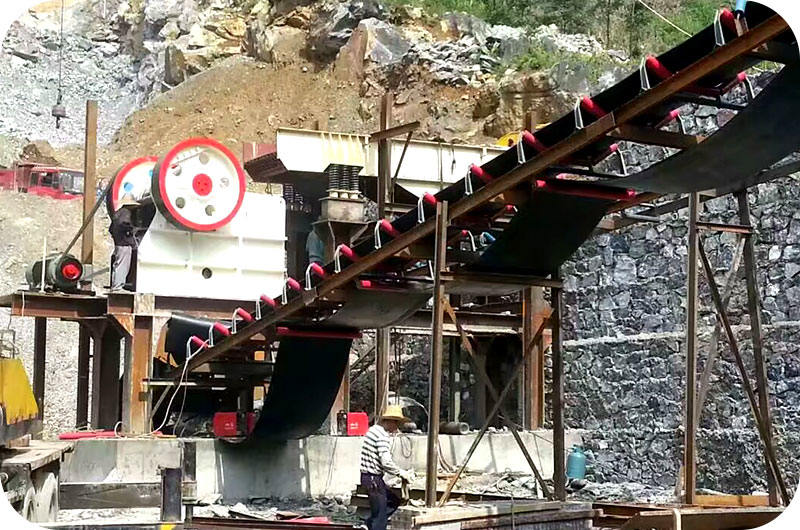 concrete jaw crusher in Indonisia